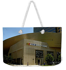 Nascar Hall Of Fame Weekender Tote Bag