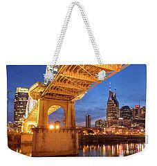 Weekender Tote Bag featuring the photograph Nashville Bridge IIi by Brian Jannsen