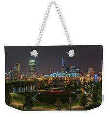 Nashville  Weekender Tote Bag