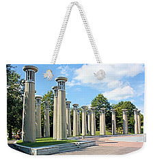 Weekender Tote Bag featuring the photograph Nashville Carillons by Kristin Elmquist