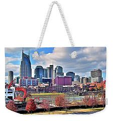 Nashville Clouds Weekender Tote Bag