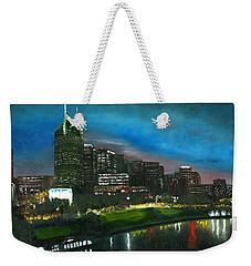 Nashville Nights Weekender Tote Bag