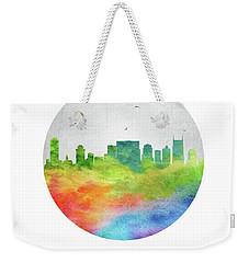 Nashville Skyline Ustnna20 Weekender Tote Bag