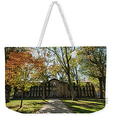 Nassau Hall Princeton University Weekender Tote Bag