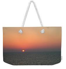 Nassau Sunset Weekender Tote Bag