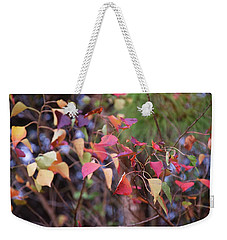 Natchez Trace Fall Weekender Tote Bag