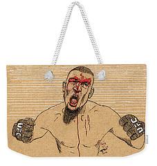 Nate Diaz Weekender Tote Bag