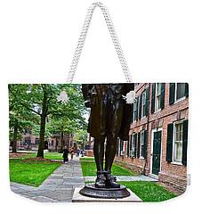 Nathan Hale Weekender Tote Bag