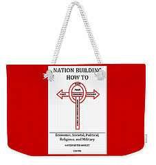 Nation Building How To Book Weekender Tote Bag