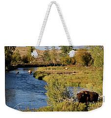 National Bison Range Weekender Tote Bag