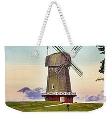 National Golf Links Of America Windmill Weekender Tote Bag