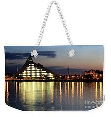 National Library Of Latvia Weekender Tote Bag
