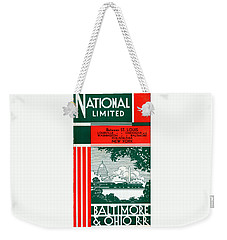 National Limited Weekender Tote Bag