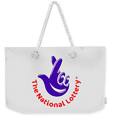National Lottery T-shirt Weekender Tote Bag