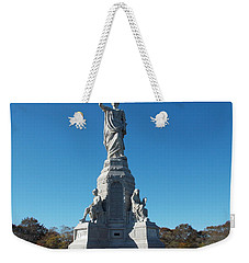 National Monument To The Fore Fathers Weekender Tote Bag by Catherine Gagne
