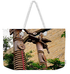 National Museum Of The American Indian 3 Weekender Tote Bag by Randall Weidner