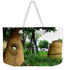 National Museum Of The American Indian 5 Weekender Tote Bag by Randall Weidner
