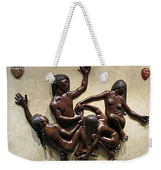 National Museum Of The American Indian 6 Weekender Tote Bag by Randall Weidner
