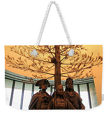 National Museum Of The American Indian 7 Weekender Tote Bag by Randall Weidner