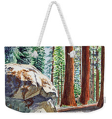 National Park Sequoia Weekender Tote Bag