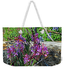 Weekender Tote Bag featuring the photograph National Parks. From The Ashes To New Life. by Ausra Huntington nee Paulauskaite