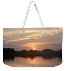 Weekender Tote Bag featuring the photograph National Photographers Day On Blacks Bayou by John Glass