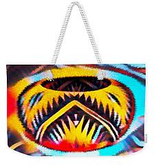 Native American Basket 1 Weekender Tote Bag