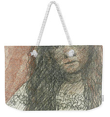 Native American Girl Weekender Tote Bag