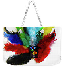 Native American Tribal Feathers Weekender Tote Bag