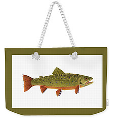 Native Brook Trout Weekender Tote Bag