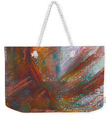 Native Dancer Weekender Tote Bag by Susan Woodward