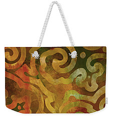 Native Elements Earth Tones Weekender Tote Bag by Mindy Sommers