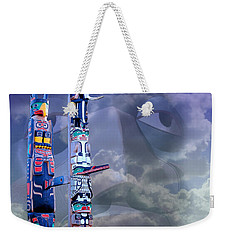 Weekender Tote Bag featuring the photograph Native Ghosts by Jeff Burgess