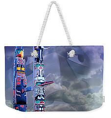 Native Ghosts Weekender Tote Bag by Jeff Burgess