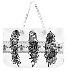 Native Mandala Feathers 5 Weekender Tote Bag