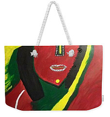 native Queen  Weekender Tote Bag