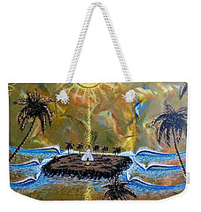 Native Sunset Dream Weekender Tote Bag