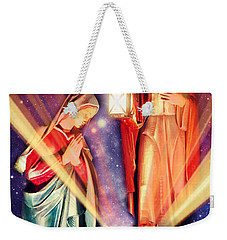 Nativity Christmas Card IIi Weekender Tote Bag