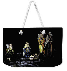 Nativity Scene Weekender Tote Bag