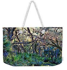 Natural 10 17b Weekender Tote Bag