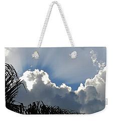 Natural 11 11 Weekender Tote Bag