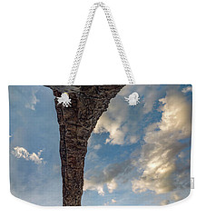 Weekender Tote Bag featuring the photograph Natural Arch 2 by Leland D Howard