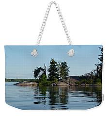 Natural Breakwater Weekender Tote Bag