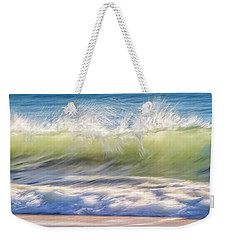 Weekender Tote Bag featuring the photograph Natural Chaos, Quinns Beach by Dave Catley