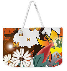 Natural Color Life Weekender Tote Bag