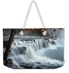 Natural Dam Falls Weekender Tote Bag