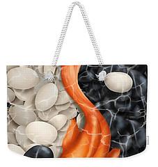 Natural Equilibrium Yin Yang Weekender Tote Bag