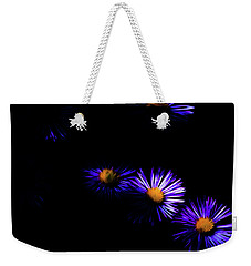 Weekender Tote Bag featuring the digital art Natural Fireworks by Timothy Hack