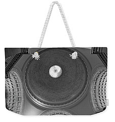 Natural History Dome In Black And White Weekender Tote Bag