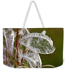 Natural Lace Weekender Tote Bag by Liz Alderdice